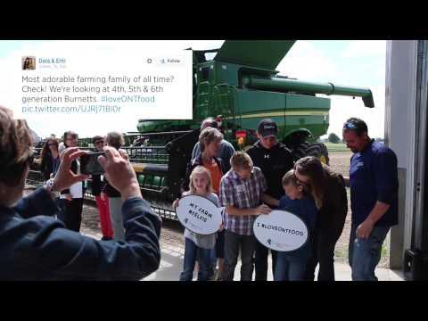 Farm & Food Care's 2014 Food Media Farm Tour