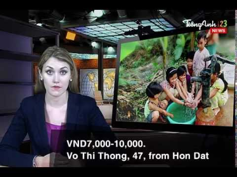 Video Học Tiếng Anh   Environment Report - Fresh Water Shortage in Mekong Delta