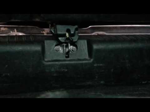 Регулировка Замка багажника Шевролет Лачети