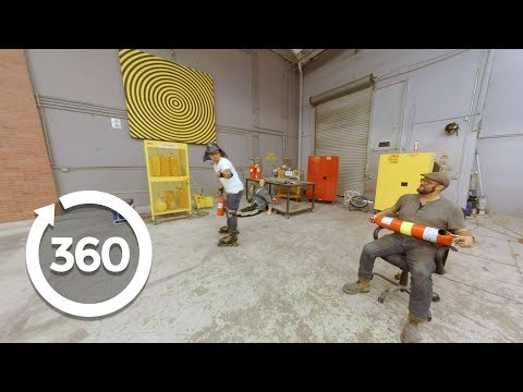 Fueled by Fire… Extinguishers | MythBusters (360 Video)