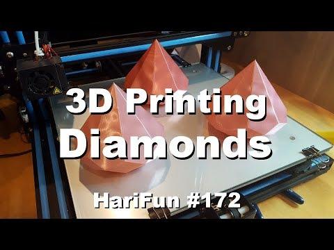 HariFun #172 - 3D Printing Diamonds