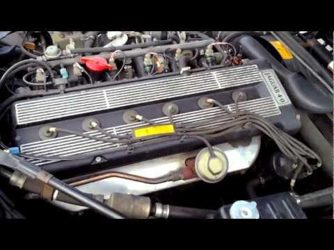 1993 Jaguar XJS 4.0L Start Up, Quick Tour, & Rev - 70K