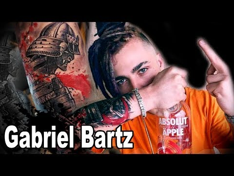 GABRIEL BARTZ (PRIMEIRA TATUAGEM DO CÜ#$% DE CACHORRO)