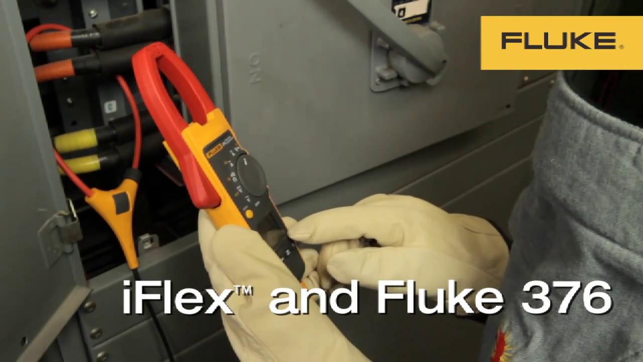 Fluke 376 True-RMS Clamp Meter With iFlex™ Flexible Current Probe