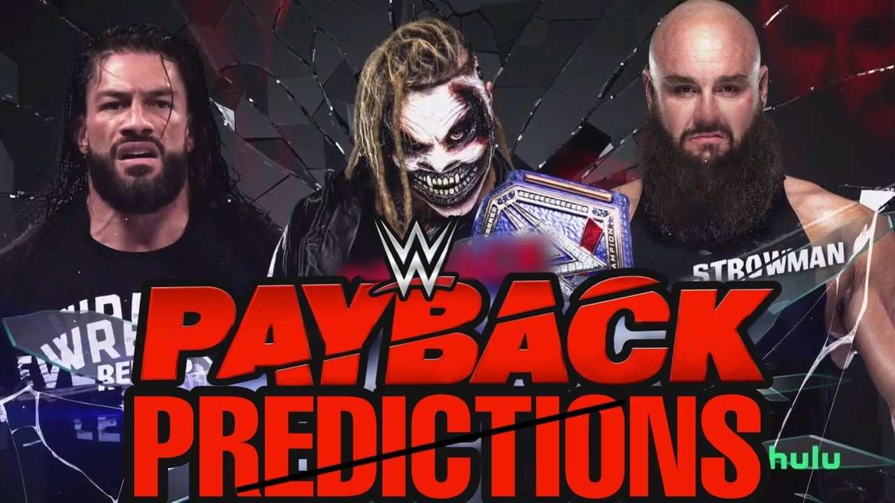 WWE PAYBACK 2020 MATCH CARD PREDICTIONS ...