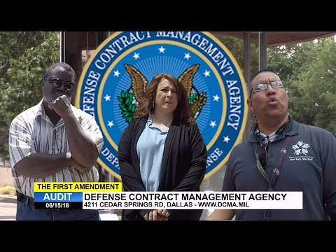 First Amendment Audit - Defense Contract Management Agency