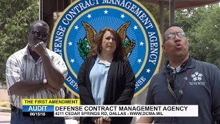 first-amendment-audit-defense-contract-management-agency