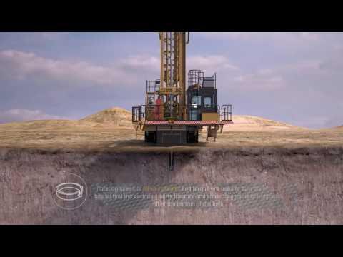 Cat® Drills Tricone Bit Drilling Method Explained
