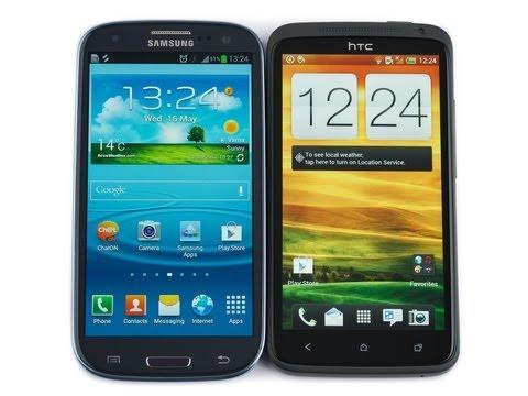 Samsung Galaxy S III vs HTC One X