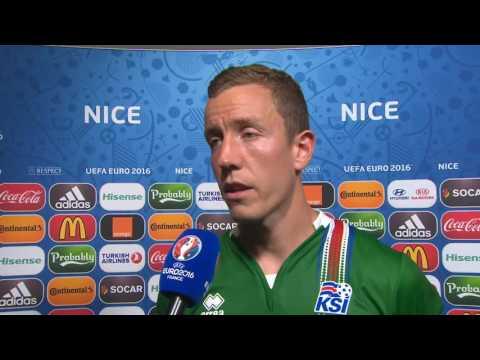 Clip   20027 2018003   Post match flash interview Hannes Halldórsson   addit cont   digital