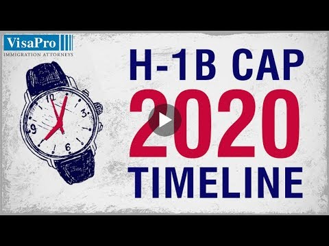 H1B Visa 2020 Timeline For Successful H1B Filing