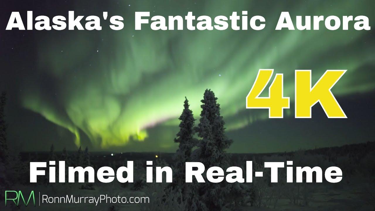 Fantastic Fall Aurora - 2015 UHD 4K Real-time Northern ...