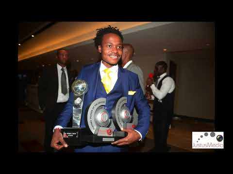 Percy Tau  and his Mother Elizabeth plus Pitso #pslawards2018 thumbnail