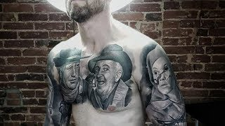 Amazing Realistic Black Tattoos by Goraj