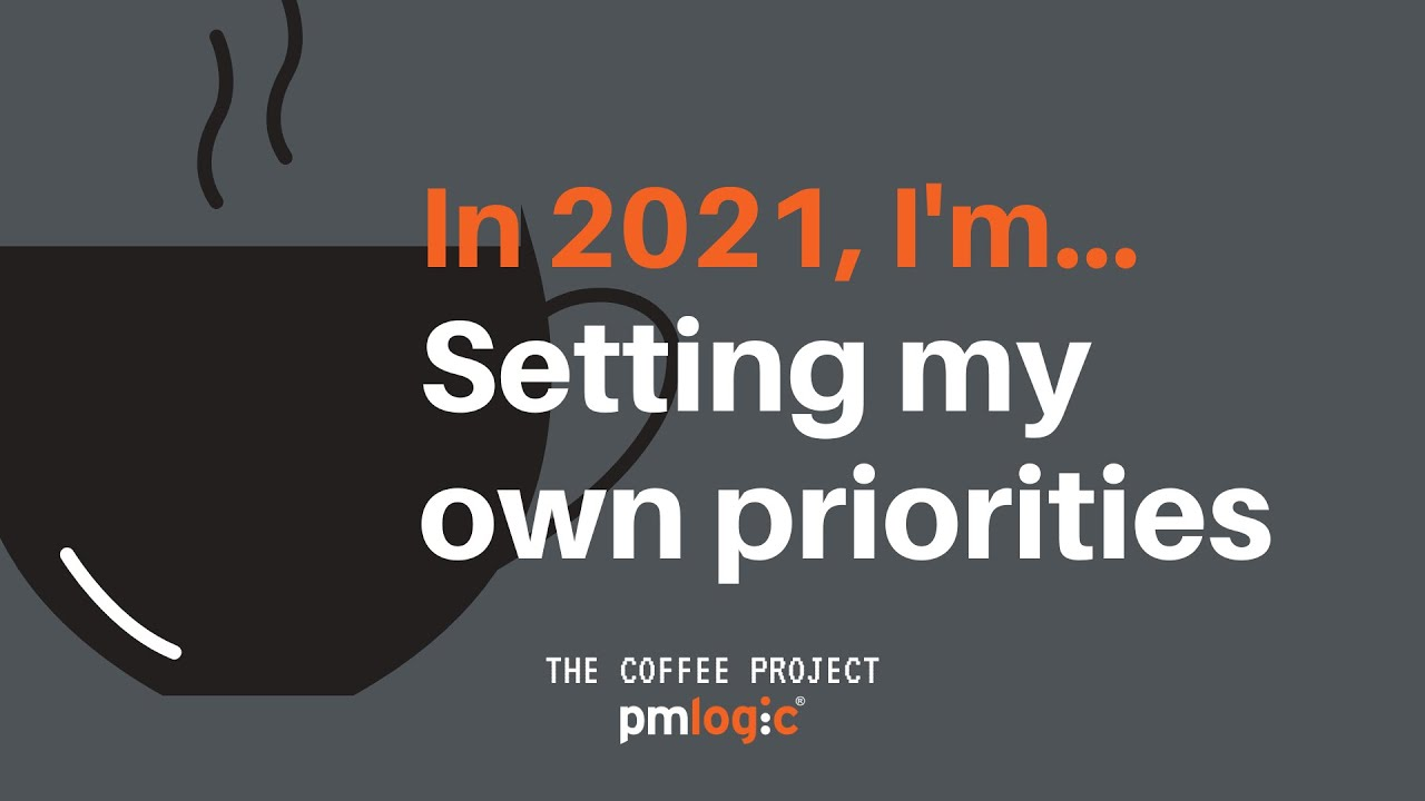 In 2021, I'm setting my own priorities- healthy work habits