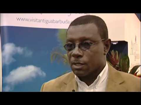 Richie Richardson, Ambassador at Large, Sports & Leisure, Antigua & Barbuda @ WTM 2010