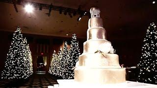 Paige and Michael's Christmas Themed Virginia Wedding