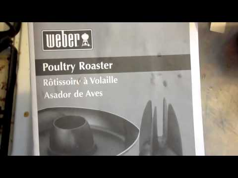 Weber Beer Can Poultry Roaster Review
