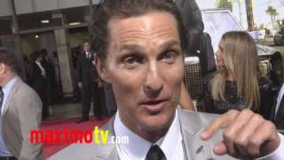 """The Lincoln Lawyer"" Premiere Matthew McConaughey"