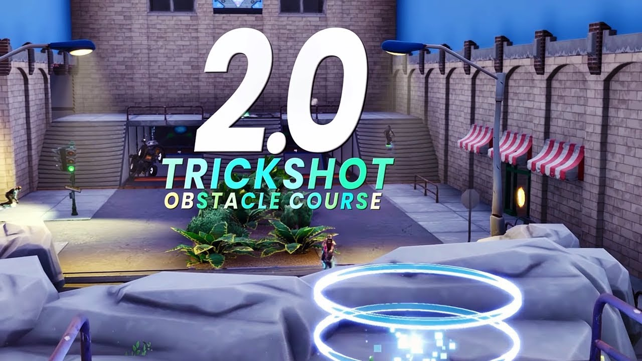 Official FaZe Trickshot Obstacle Course 2.0 Map Reveal ...