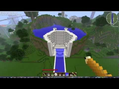 how to build dam school project