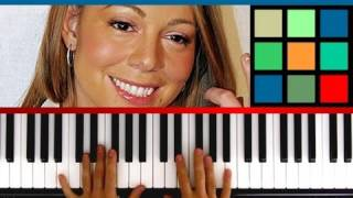 "How To Play ""All I Want For Christmas Is You"" Piano Tutorial / Sheet Music (Mariah Carey)"