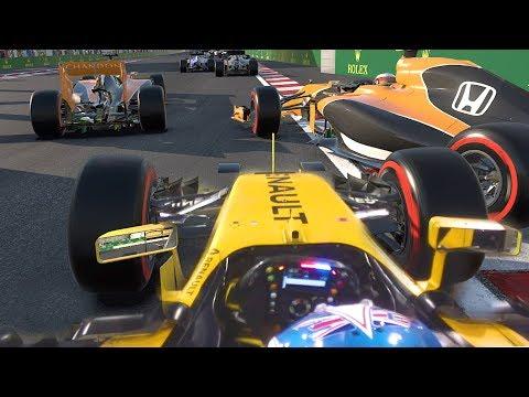 LAST TO ? CHALLENGE - Jolyon Palmer 2017 Azerbaijan GP Challenge