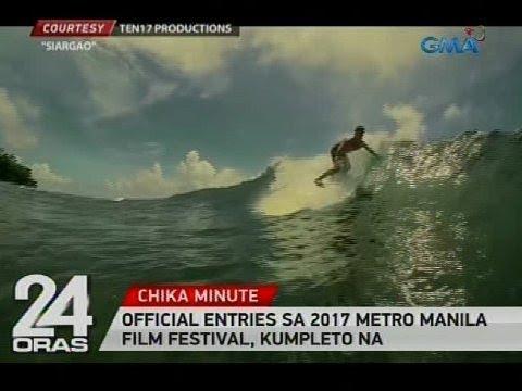 Official entries sa 2017 Metro Manila Film Festival, kumpleto na