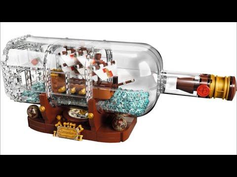 LEGO Ideas 21313 Ship in a Bottle - 2018