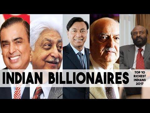 Indian Billionaires | Top 10 Richest Indians 2017
