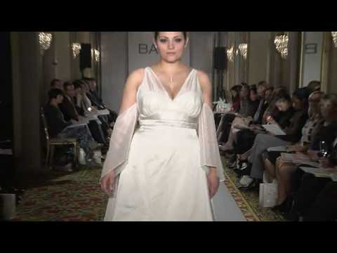 Bara Luxe Full Figure/Plus Size And Bara Champagne   Bridal Show Spring  2009.