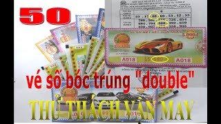Vé số cào Việt Nam#Thửtháchvậnmay#50
