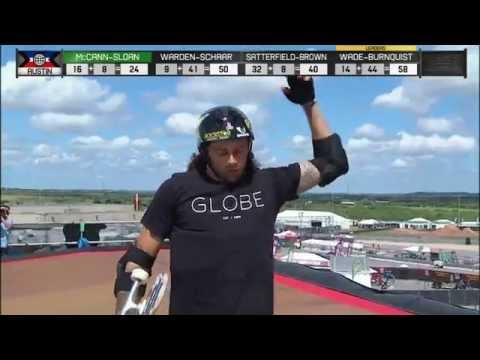 Steve McCann and Elliot Sloan win silver in X Games Austin Big Air Doubles - ESPN