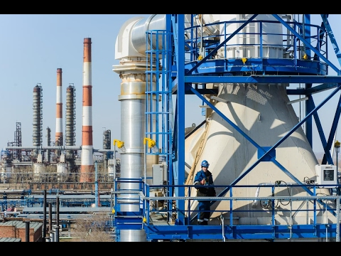 Crude Oil Refinery separation  process