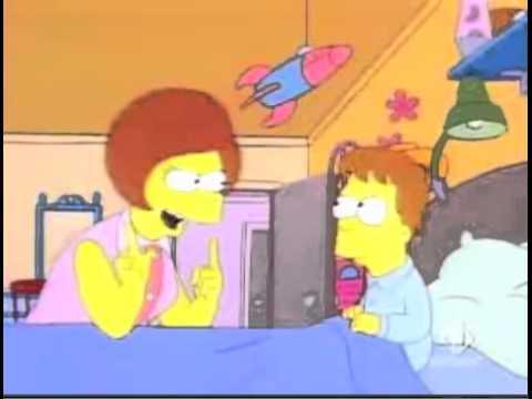 Homer e Mona Simpson - Ninna nanna ina ina - ita