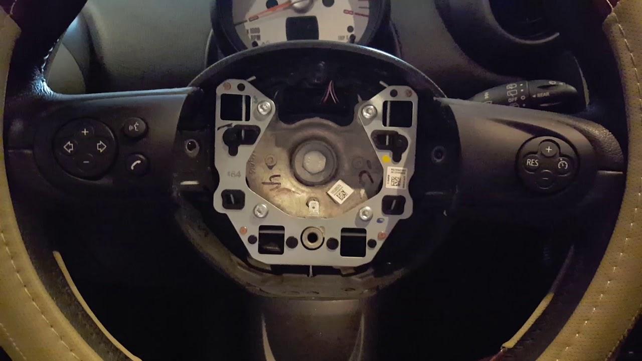 Airbag Remove 2017 Mini Cooper Countryman