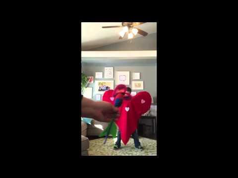Valentine's LDS Primary Chorister Idea