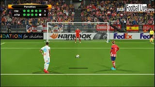 PES 2018 | Penalty Shootout | Marseille vs Atletico Madrid | Final UEFA Europa League