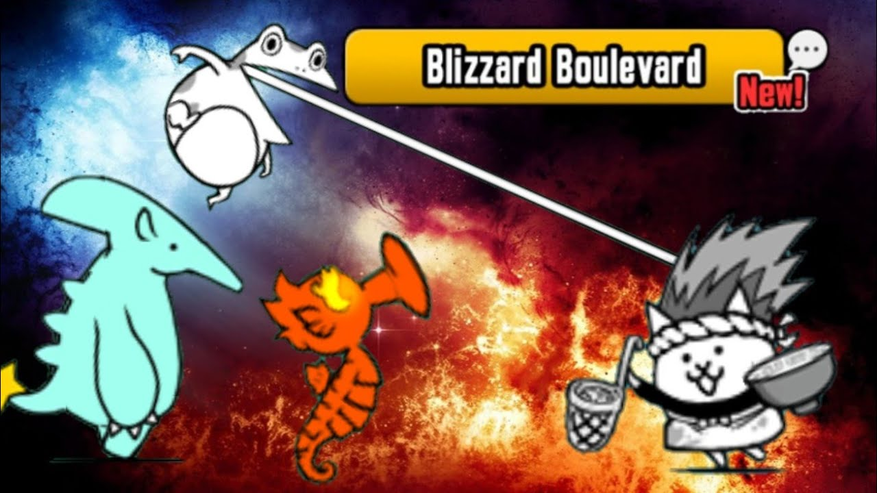 The Battle Cats Update 6 8 | Blizzard Boulevard | 4 Star Rules by Jase The  Ace!