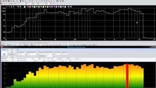 Audiomatica Clio vs Spl-Lab USB RTA Meter on Sweep Tone