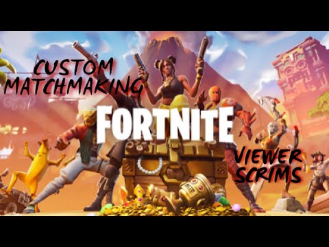 what are some custom matchmaking key fortnite