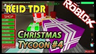 ROBLOX/CHRISTMAS TYCOON 4: piso 3/Reid TDR para crianças, pai e filho, sem palavras ruins