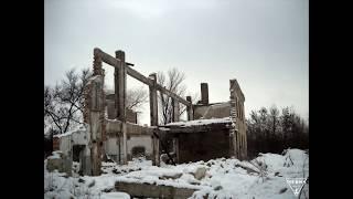 Руины заброшенной  шахты Объединенная [Туризм Кривой Рог]