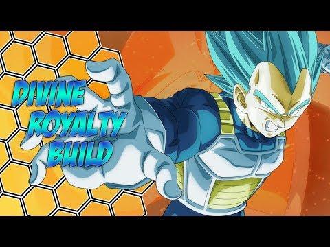 Divine Royalty [Super Saiyan Blue Themed Build] - Dragon Ball Xenoverse 2
