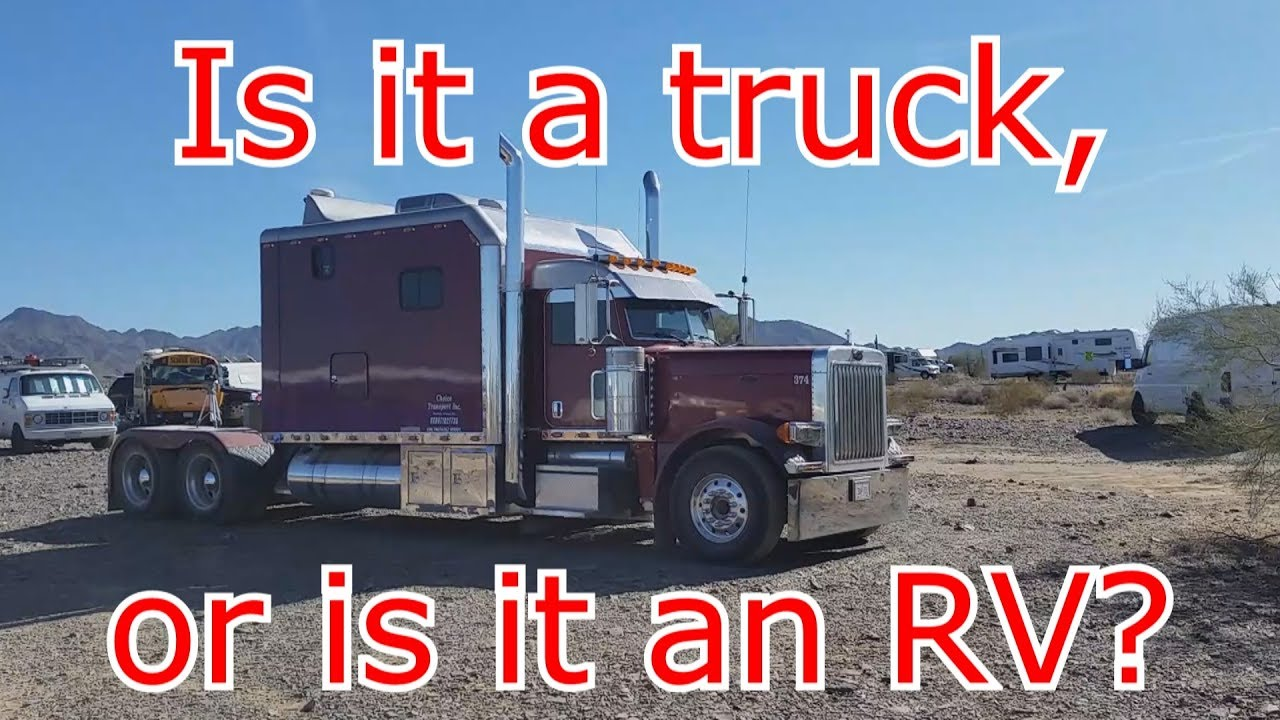 RTR 2018: Unbelievable sleeper cab on this semi truck - tour and interview