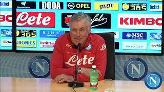 Napoli-Fiorentina, la conferenza di Ancelotti - Ancelotti's press conference