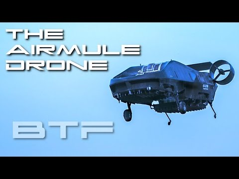 The AirMule Drone - Behold The Future