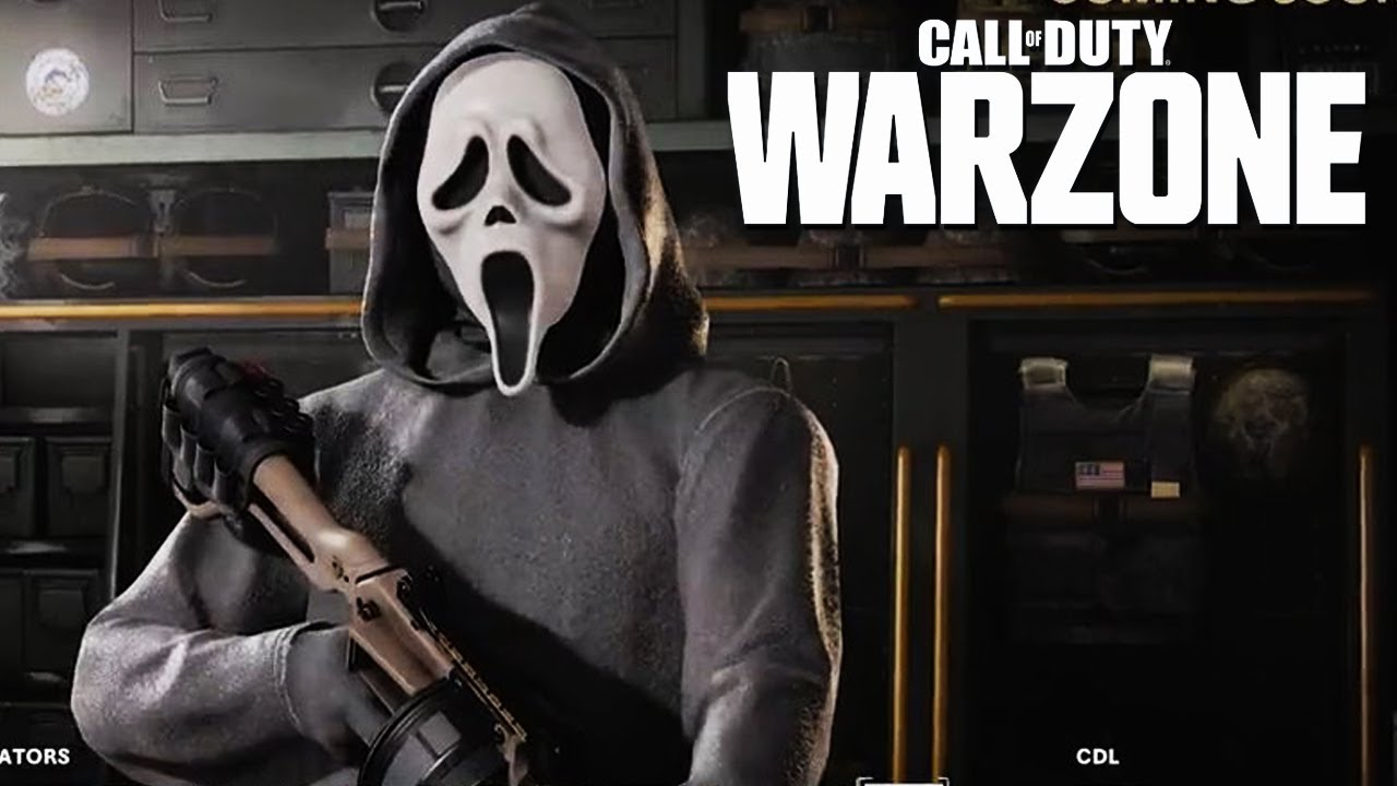Ghostface in Call of Duty: Warzone