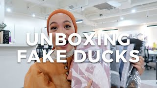 Unboxing Fake dUCks | Vivy Yusof
