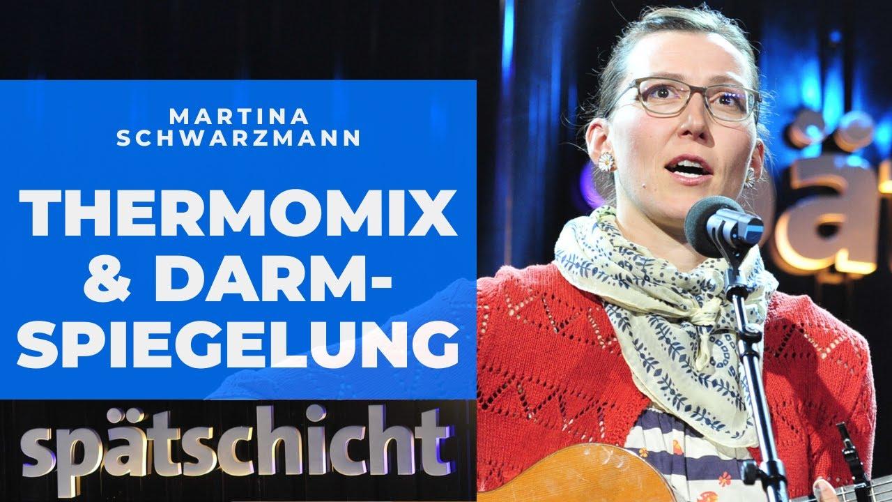 Thermomix und Darmspiegelung: Martina Schwarzmanns Familienfest | SWR Spätschicht